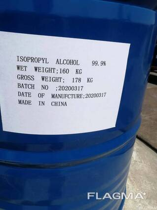 Isopropyl Alcohol 67-63-0 Raw Material for Hand Sanitizer