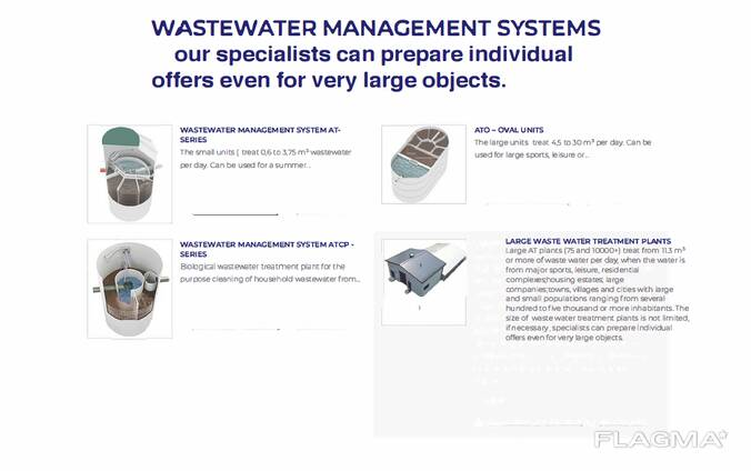 Patented wastewater treatment technology ( with certification from the european union)